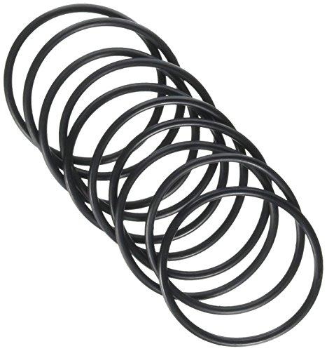 10055mm Außen Dia 3mm Dicke Gummi Ölfilter Seal Dichtung O-Ringe Schwarz