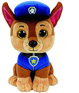 Ty- Patrulla Canina Chase 15 cm (41208TY), Color Azul, marrón (United Labels Ibérica
