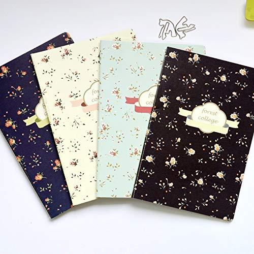 WanTo 2 stücke süße kreative Vintage Notebook 24sheets zusammensetzung Buch softbook, 2 stücke senden durch die Freiheit