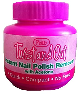 Pretty Twist and Out Acetone Nail Varnish Remover 55 ml