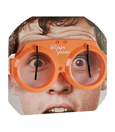 7 Brille mit Scheibenwischer (Trinken Brillen)