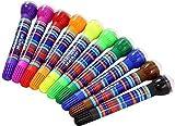 10 Roller Stamper Marker Set Decorative ...