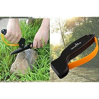 edc Outdoor Messerschärfer Schärfen Werkzeug, beste Wahl für Survival, Jagd, Gartenarbeit, Landwirtschaft, Angeln oder Camping Gear