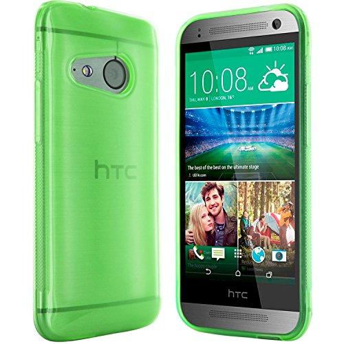 moodie Silikonhülle für HTC One Mini 2 Hülle in Grün - Case Schutzhülle Tasche für HTC One Mini 2 (Rutschfest)