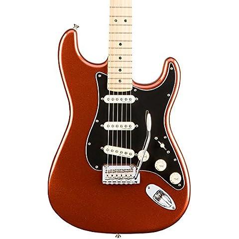 Fender Deluxe roadhous Strat MN-Classic Copper