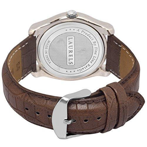 Laurels Gatsby Ivory Dial Men's Watch – Lo-Gt-101