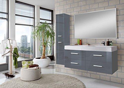 Colori Per Mobili Da Bagno : Msa sam 3 pezzi set di mobili da bagno hilo 120 cm con lavabo