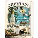 Nostalgic-Art 26167 Open Bar - Jamaica Rum, Blechschild 15x20 cm