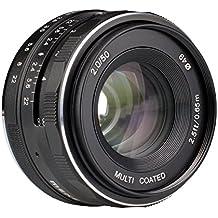 Meike–50mm F2.0gran apertura fija non-zoom APS-C cámara lente para Sony E Mount ILDC cámara sin espejo