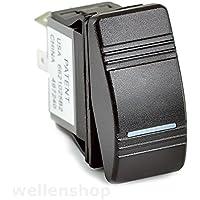wellenshop 12V LED Kippschalter ON-OFF 25 A