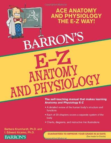 E-Z Anatomy and Physiology, 3rd Ed (Barron's E-Z)