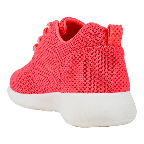 Japado , Sneakers Basses femme Rose - Orange rosé