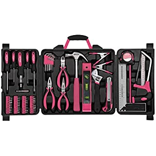 Apollo Precision Tools DT0204P Household Tool Kit, 71-Piece, Donation Made to Breast Cancer Research