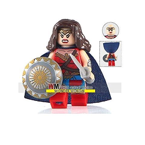 Wonder Woman Lego Custom Minifigure kompatibel mit Lego diy Figur - Superhelden - perfekt für Weihnachten - Weihnachten