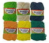 Yashika Yarn Multi Colour - Pack Of 6
