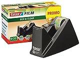 Cinta adhesiva de fácil corte de la mesa de dispensador de economía EcoLogo, incluido 1 rollo de película/oficina-con-Set, Abroller + 20 Rollen extra