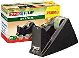 tesa Easy Cut Tischabroller Economy ecoLogo, inkl. 1 Rolle tesafilm/Büro-Spar-Set (Abroller + 20 Rollen Extra)