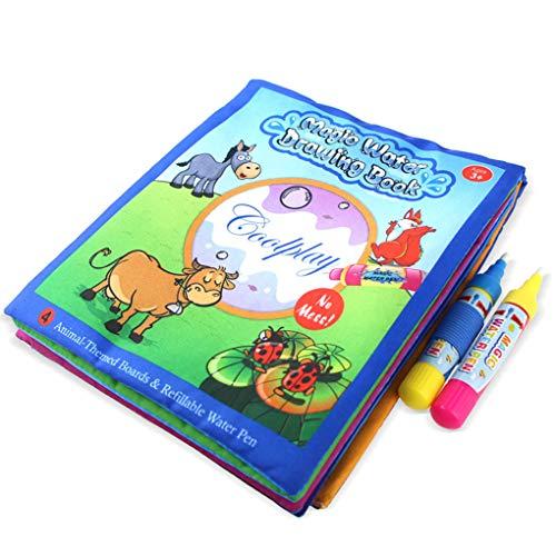 Idyandyans Das Malbuch ist speziell aus weichem Stoff, Anders als das Buch aus Papier, Werden Sie nie etwas dagegen, DASS Ihr Baby es reißt ab (Und Spielzeug Papier Bücher, Magische)
