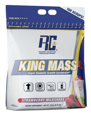 RCSS King Mass Gainer Kohlenhydrate Muskelaufbau Protein Eiweiß´Proteinshake Eiweißshake Bodybuilding (6800g Chocolate - Schokolade) -