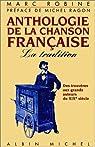 Anthologie de la chanson française par Robine