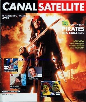 CANAL SATELLITE [No 91] du 01/04/2005