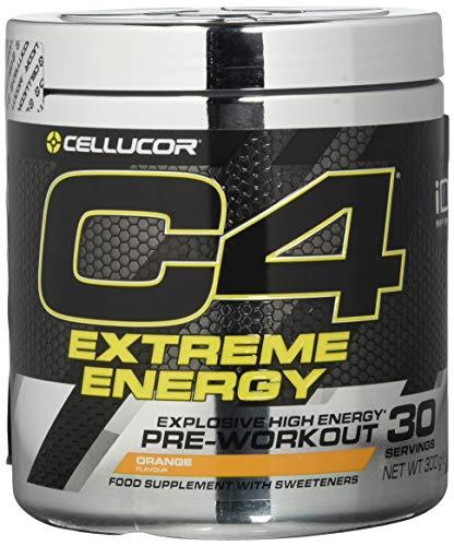 Cellucor C4 Extreme Energy - Pre-Workout-Pulver - Getränkepulver für Energie-Booster - Orange - 30 Portionen