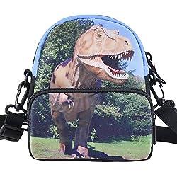 Mochila para escuela Bistar Galaxy con estampado, dinosaurio (multicolor) - 6788528