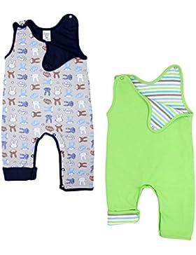 TupTam Baby Jungen Strampler Wendestrampler 2er Pack