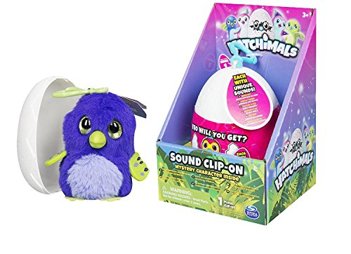 Hatchimals Mystery Minis Sound Clip-On Colleggtibles | Hatchimal Egg - each hatchimal inside making unique sounds - Collect each of them! - Perfect gift for your child
