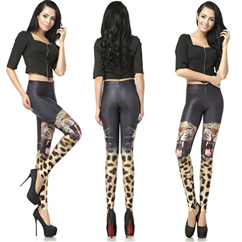 THENICE - Legging - Femme taille unique Two tigers
