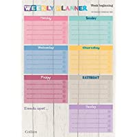 Collins A4 Unique Layout Weekly Planner Pad (Pack of 60 Sheets)