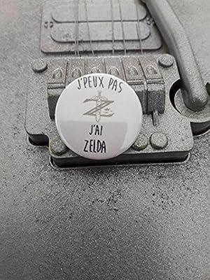 Badge J'peux pas J'ai Zelda