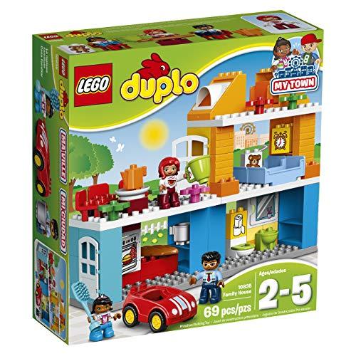 feuerwehrauto lego duplo LEGO Duplo 10835 - Familienhaus, Spielzeug für drei Jährige