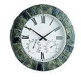 Gardman Garden Clock SALISBURY Thermal Meter, Hygrometer (Garden & Outdoors)
