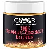 100% Peanut + Coconut Butter, 500g Dose, Kombination Erdnüssen und Kokosnuss, ohne Zucker, ohne Zusätze, Erdnussmus ohne Salz, Öl oder Palmfett, Smooth Geschmack