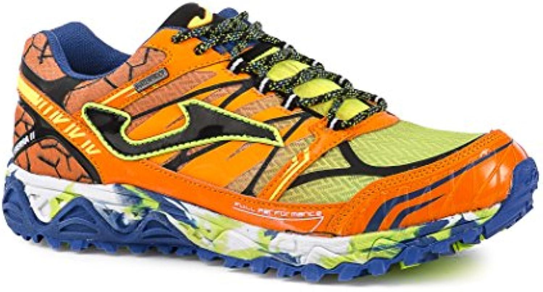 Joma TK.Sierra Zapato Otoño Invierno Zapatos Trail Hombre, Orange Fluor-Black