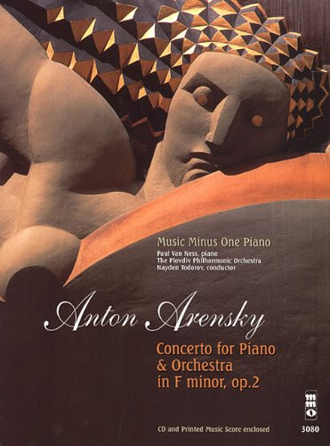 Arensky: Concerti in F Minor, Opus 2: Piano (Music Minus One (Numbered))