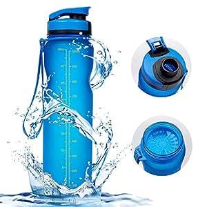 Vsllcau portflasche Wasserflasche Auslaufsichere Fahrradflasche Bottle