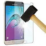 HQ-CLOUD 1 Film Vitre en Verre Trempe de Protection d'ecran Transparent pour Samsung Galaxy J5 SM-J500F (version 2015)