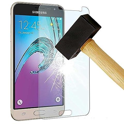 HQ-CLOUD 1 Film Vitre en Verre Trempe de Protection d'ecran Transparent pour Samsung Galaxy J5 SM-J500F (version