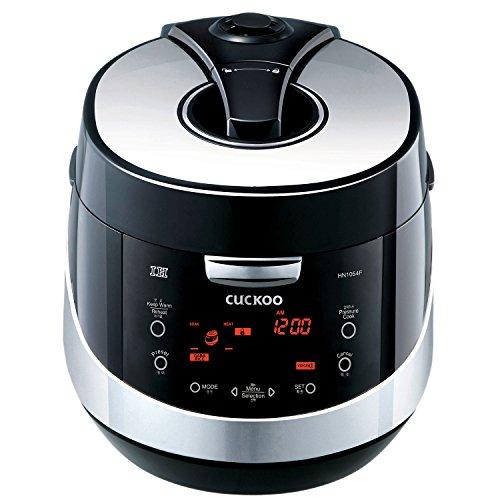 """Cuckoo Digitaler Induktions-Reiskocher mit Dampfdruck und """"Fuzzy Logic"""" Technologie, CRP-HN1054F (1,8L, für bis zu 10 Personen)"""