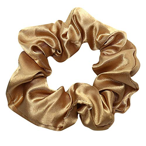 Haarbands,Sasstaids Trendy Lady Hair Scrunchie Ring elastische reine Farbe Bobble Sports Dance Scrunchie