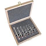 Tampone di 7 teilig H7 3-12 mm Per 1 tampone 3, 4, 5, 6, 8, 10, 12 H7 In scatola di legno con protettivo con imbottitura In schiuma., peso: 0,90