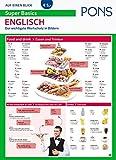 PONS Super Basics auf einen Blick Englisch: Der wichtigste Wortschatz in Bildern (PONS Auf einen Blick)