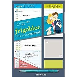 Mini Frigobloc mensuel 2020 - Calendrier d'orga. familiale / mois (sept. 2019 - août. 2020): Le calendrier maxi-aimanté pour se simplifer la vie !