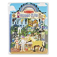 Melissa & Doug Puffy Sticker Activity Book - Riding Club