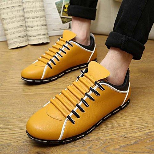 ZXCV Scarpe all'aperto Scarpe casual uomo scarpe da uomo Giallo