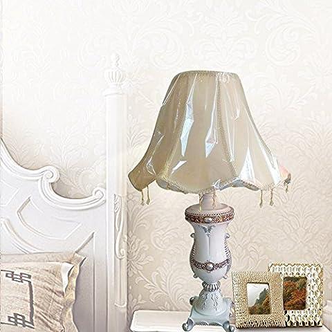 SDKIR-lampe de table de style européen résine grande lampe de bureau cuvée lampe de table