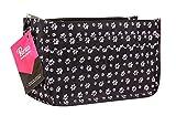 Periea Daisy Organiseur de sac à main à 15compartiments, Black (Paw Print) (noir) - JNB61BL