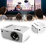 Tongshi 1080P HD LED Multimedia Home Centro de Cine VGA de TV USB y HDMI mini proyector